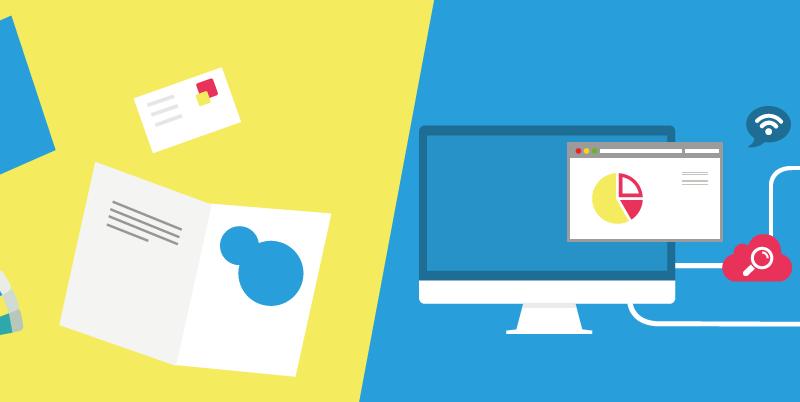 communication print vs communication digitale