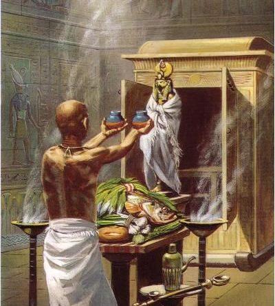 pretre dans legypte antique