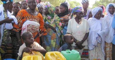 le conflit pose un réel défi d'accès à l'eau aux populations déplacées