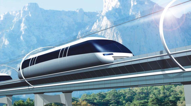 Hyperloop travaille sur un train de transport de marchandises